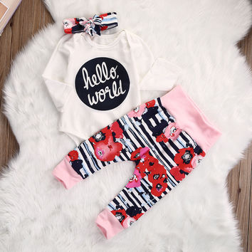 Hello World Patterns - Three Piece Set