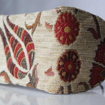 Handmade Gobelin tapestry pouch, bag, mobile phone holder