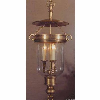 Visual Comfort and Company CHC2103AB Balustrade Antique Lantern