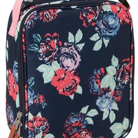 Old Navy Girls Zip Top Lunch Bag Size One Size - Red floral
