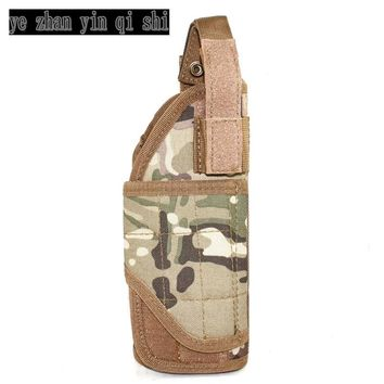 Mount Tactical Vest & backpack Pistol Holster Multicam MC military role-playing game Adjustable Tornado multiple MOLLE