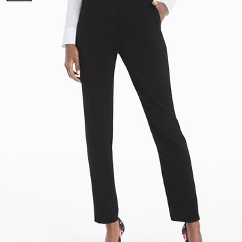 White House | Black Market Petite Crepe Relaxed Ankle Pants