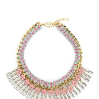 Multi Stone And Charm Necklace by Juicy Couture