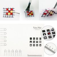 Nail Art Manicure Silicon Mat for Nail Stamping Reverse Stamp Water Marble Nail Artist Practice Workspace Pad