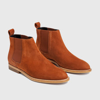 Chelsea Boot - Saddle Suede