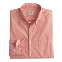 J.Crew Mens Secret Wash Shirt In End-On-End Cotton