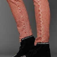 Free People Union Stud Moccasin