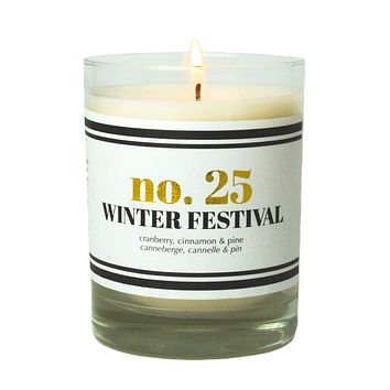 No. 25 Winter Festival Scented Soy Candle