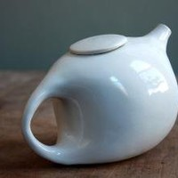 Creamy Teapot by clamlab on Etsy