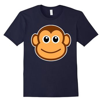 Monkey Shirts - Cute Monkey Emoji Tee Shirt