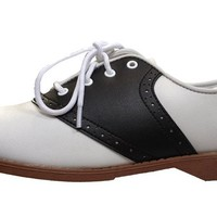 Hip Hop 50s Shop Womens Saddle Oxford Shoes