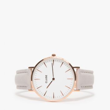 CLUSE / La Bohème Rose Gold White/Grey