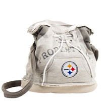Pittsburgh Steelers NFL Property Of Hoodie Duffel