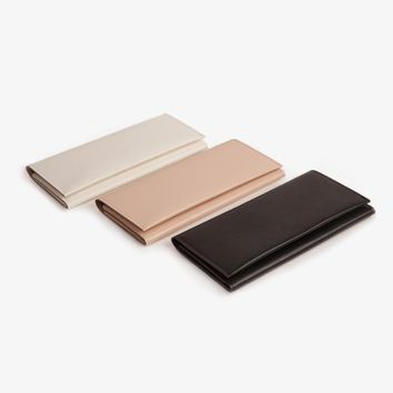 Minimalist Long Wallet