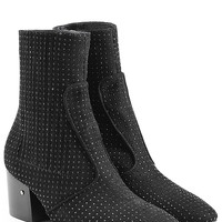 Laurence Dacade - Studded Suede Ankle Boots