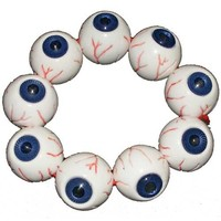Eyeball Bracelet - Blue :: VampireFreaks Store :: Gothic Clothing, Cyber-goth, punk, metal, alternative, rave, freak fashions