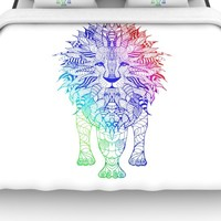 KESS InHouse Rainbow Lion Bedding Collection