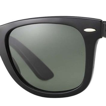 Cheap RAY BAN Sunglasses black frame gradient black lens polarized RB 4165 Wayfarer outlet