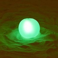Small Glow Ball Pool Float