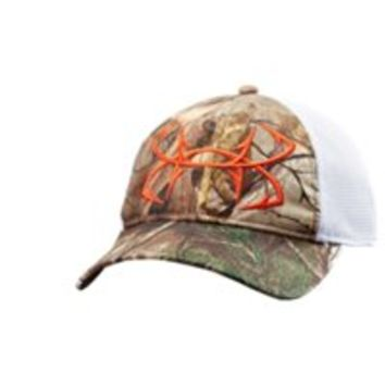 Under Armour Men's UA Fish Hook Camo Adjustable Cap
