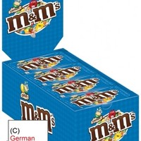 M&M's Crispy, 24 Small Bags, Counter Display
