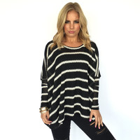 Hope It Lasts Forever Stripe Top