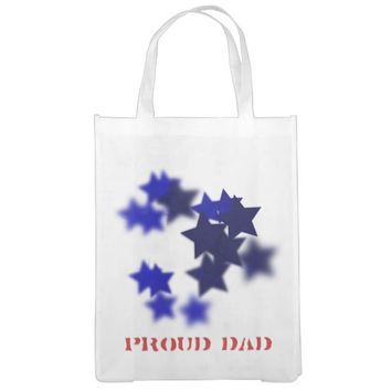 Proud Dad Reusable Grocery Bag