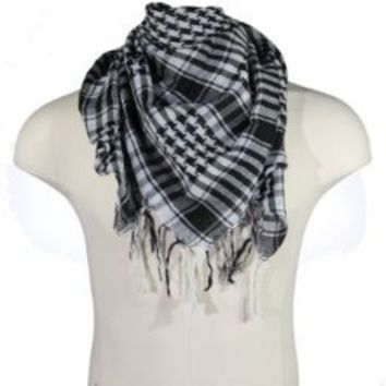 BDP Arab Shemagh Scarf, houndstooth scarf, head scarf -13 colors-LIFETIME WARRANTY!:Amazon:Clothing