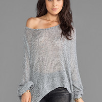 Michael Lauren Kurt Oversized Sweater in Grey from REVOLVEclothing.com