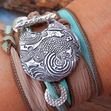 Sterling Silver FISH Jewelry Fish Bracelet