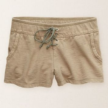 Aerie Women's Lace-up Short