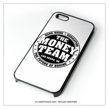 Tmt The Money Team Hard Work Floyd Mayweather iPhone 4 4S 5 5S 5C 6 6 Plus , iPod 4 5 , Samsung Galaxy S3 S4 S5 Note 3 Note 4 , HTC One X M7 M8 Case