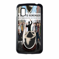 A Day To Remember Sand Watch Master Nexus 4 Case