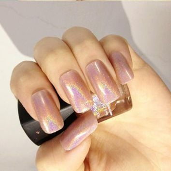 Holographic Holo Glitter Nail Polish Varnish Hologram Effect 6#