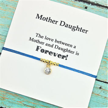 """Mother Daughter Bracelet 