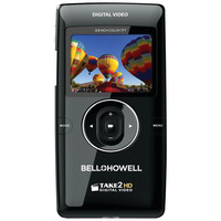 Bell+howell 5.0 Megapixel Take2hd High-definition Flip Digital Video Camcorder (black)