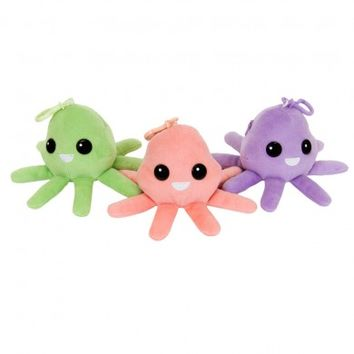 Squiddles Plush Keychain