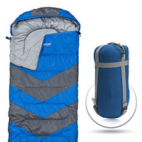 Sleeping Bag – Envelope Lightweight Portable Waterproof, Camping, Backpacking