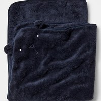 Gap Favorite Knit Bear Blanket Size One Size - Dark night