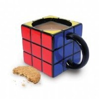 Cool Stuff - Spinning Hat Rubik's Cube Mug