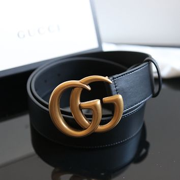 GUCCI BLACK GG MARMONT BELT SIZE 75 CM- SOLD OUT EVERYWHERE