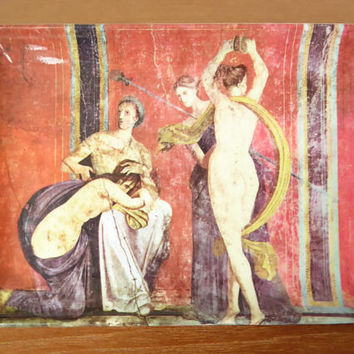 Decorative Crafts made in Italy melamine snack tray with nudes