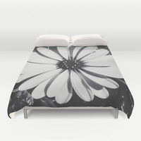 Waiting for the night Duvet Cover by Loredana