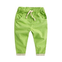 Baby boys Casual Loose Trousers Summer Bottoms Harem Long Pants Fashion Toddlers