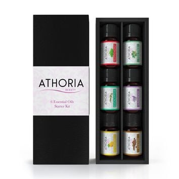 Aromatherapy Essential Oil Starter Set (6 Pack)