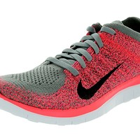 Free 4.0 Flyknit Womens Light Charcoal/Hyper Punch/Bright mango/Black 631050-006