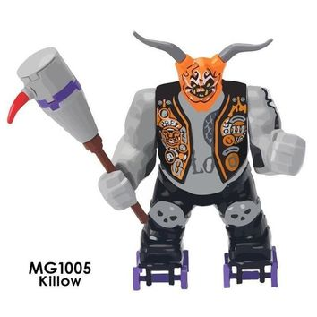 MG1005 Legoing Ninjago Movie Series Killow Villain Giant Action Legoing Figures Model Blocks Toys For Friends Childern Ninjago