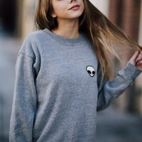 Brandy & Melville Deutschland - Erica Alien Patch Sweater