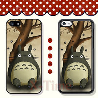 My Neighbor Totoro, iPhone 5 case iPhone 5c case iPhone 5s case iPhone 4 case iPhone 4s case, Samsung Galaxy S3 \S4 Case--X50298