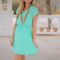 Sweet Suzy Dress, Mint